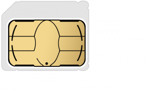 micro-SIMカード