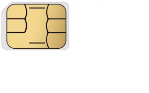nano-SIMカード